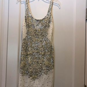 Adrianna Papell Sequined Dress